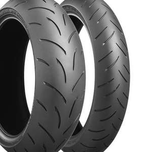 Pair of Motorbike tyres offer free delivery £99.98 @ M&P Direct