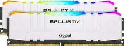 Crucial Ballistix RGB 16GB (2X8GB) 3200 MHz, DDR4 DRAM, C16 White Memory Kit, £79.99 at sereneituk/eBay