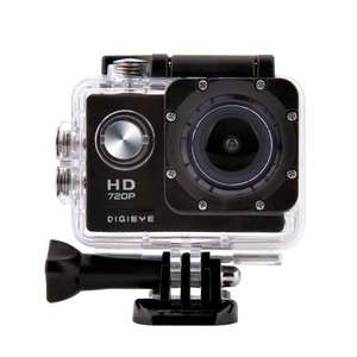 "Digieye 720P Waterproof HD Action Camera Kit with 2"" LCD Screen + 8GB MicroSD £12.99 at 7dayShop"