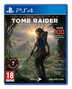 Shadow of the Tomb Raider: Definitive Edition (PS4) - £19.99 delivered @ Boss Deals / eBay