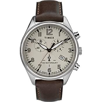 Timex Mens Chronograph Quartz Watch with Leather Strap £48.93 @ Amazon