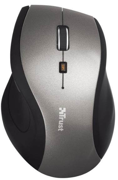 Trust Sura Wireless Mouse, 800-1600 DPI, 6 Buttons + 3 Year Warranty - £6.95 (Prime) / £11.44 (Non Prime) delivered @ Amazon