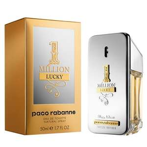 Paco Rabanne One Million Lucky EDT 50ml - £32 / £34.99 delivered using code @ Fragrance Shop