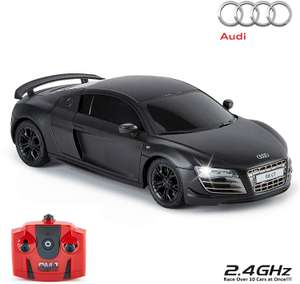 CMJ RC Cars™ Audi R8 GT Officially Licensed Remote Control Car BLACK £7.98 @ Amazon (+£4.49 non-prime)