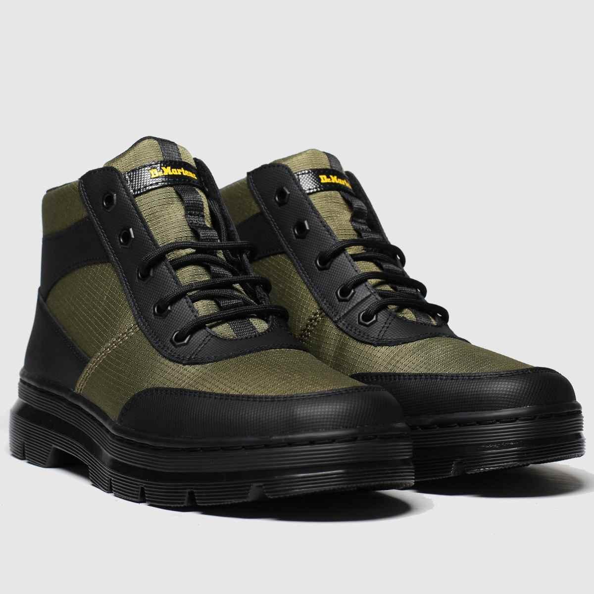 Dr Martens khaki bonny tech 6 eye boots (sizes 7 to 12 incl atop) - £44.99 @ Schuh