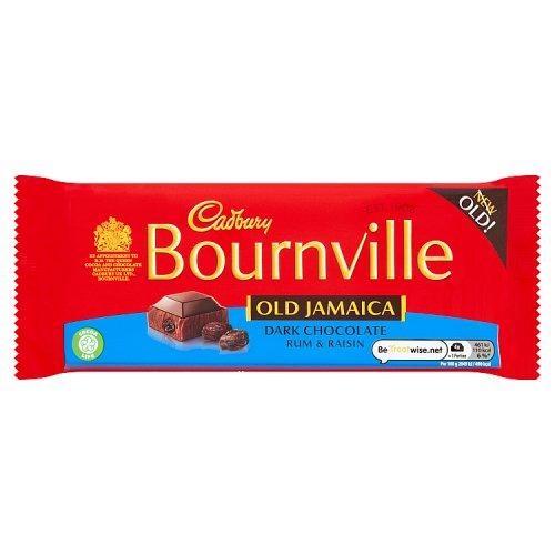 Bournville Old Jamaica (Rum & Raisin) 100g - 99p in Home Bargains
