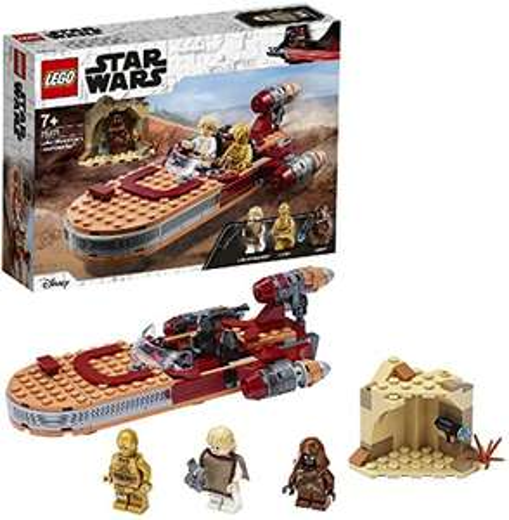 LEGO 75271 Star Wars Luke Skywalker's Landspeeder £19.99 (Prime) + £4.49 (non Prime) at Amazon