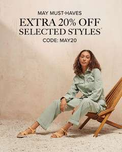 20% off selected Outlet items only at UGG
