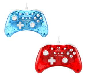 PDP Rock Candy Wired Controller for Nintendo Switch - Blue or Cherry - £12.99 delivered @ Smyths (Account holders)