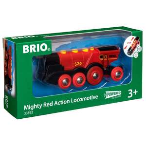 BRIO Mighty Red Action Locomotive - £18.50 + £3.99 Delivery @ Hamleys