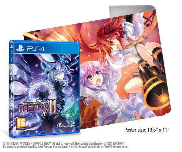 Megadimension Neptunia VII + Poster (PS4) £9.95 Delivered @ Reef Outlet via eBay