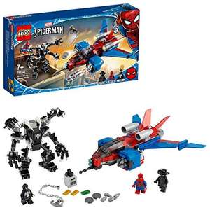 LEGO 76150 Super Heroes Marvel Spider-Man Jet vs. Venom Mech Playset with Spider-Man Noir Minifigure £27.99 @ Amazon