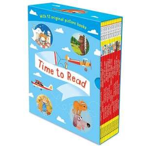 Time to Read 12 Book Collection - Room on the Broom / The Gruffalo's Child / What the Ladybird heard & Others - £10.99 Delivered @ Costco