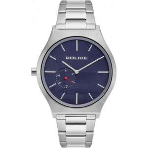 Men's Police 15965JS-03M Orkneys Blue Dial Wristwatch + Box & 2 year warranty - £59 Delivered @ H.S Johnson