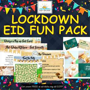 FREE EID FUN PACK to help stay home during the lockdown
