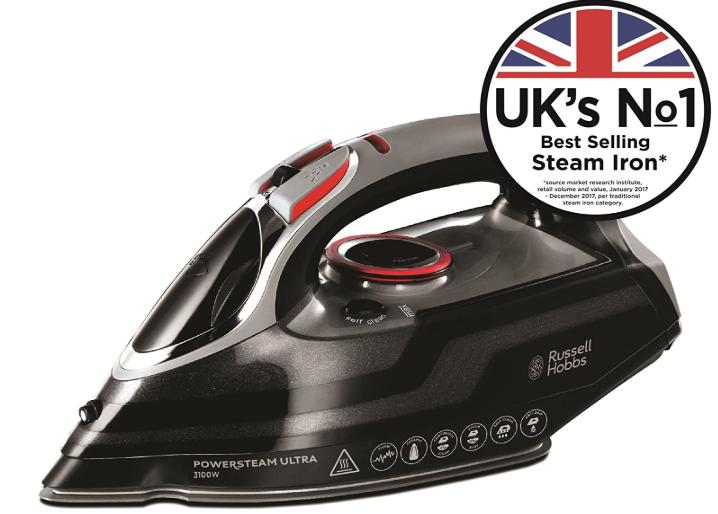 Russell Hobbs Powersteam Ultra 3100 W Vertical Steam Iron 20630 - £29.99 @ Amazon