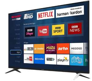 "Sharp LC-60UI9362K 60"" Ultra HD 4K Smart TV - £399 Delivered using code @ Box"