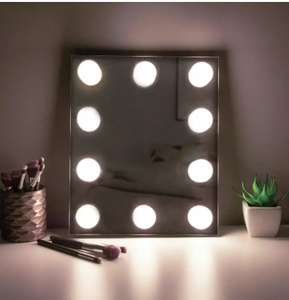 Hollywood light Mirror £4.50/£8.45 Delivered From Argos