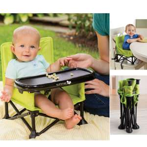 Summer Infant Pop n Sit 2 in 1 Portable Highchair Booster Seat - Green £15.95 Delivered @ online4baby