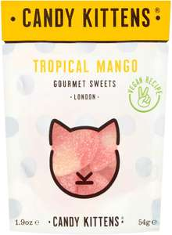 Candy Kittens Vegan Sweets - Gluten-Free - Tropical Mango 54g £1 + £4.49 (non Prime) at Amazon
