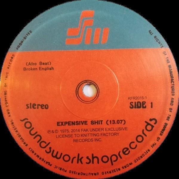 Expensive **** by Fela Kuti on vinyl, only £11.91 @ Amazon Prime / £14.90 Non Prime