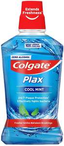 Colgate Plax Cool Mint Antibacterial Mouthwash 500 ml £1 @ Amazon Pantry (£15 min spend / £3.99 delivery)