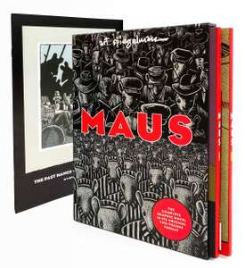 Maus I & II Paperback Box Set by Art Spiegelman (+ sixteen-page booklet designed by the artist) £14.99 delivered @ Blackwells