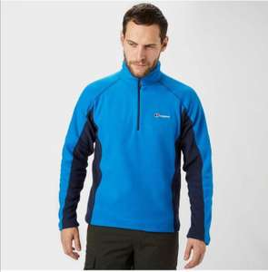 Berghaus Hartsop 1/2 Zip Men's Micro Fleece 25.75 delivered @ Amazon - Sold & Dispatched by Blacks - sizes S/M/L/XL/XXL