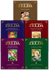 The Legend Of Zelda Legendary Edition Vol 1-5 Collection £33.99 @Books4People.co.uk