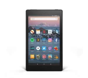 Amazon Set of 2 Fire HD8 16GB Tablets w/ 32GB SD Cards & Caseable Vouchers £99 +£4.95 delivery @ QVC