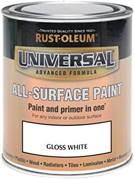 Rust-Oleum 250ml Universal Paint £8.99 / 750ml £19.99 (Various Colour's - See Description) (+ £4.49 NP) Amazon