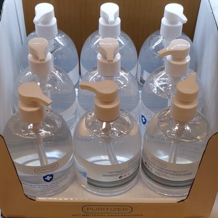 Puritizer 70% Alcohol Hand Sanitiser 500ml Pump Bottle, £3.99 In Store @ Aldi (High Street, Glasgow)