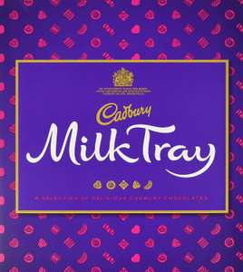 Cadbury Milk Tray Assortment Chocolate Box 360g - £4.00 Prime £8.49 Non Prime at Amazon