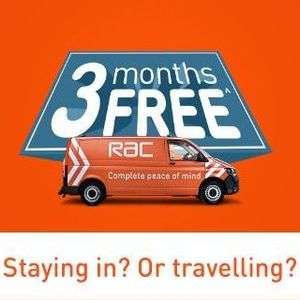 3 Months Free RAC Breakdown Cover (when you buy 12 months) Months 13, 14 & 15 would be free - from £90 annual - New customers only