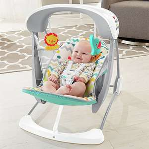 Fisher Price Colourful Carnival Take-Along Swing & Seat with 10 songs & 6 Speeds £40.00 Delivered From Yankee Bundles