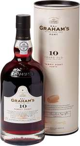 Grahams 10 Years Old Tawny Port, 75 cl - £15 Prime / £19.49 Non Prime Sold by Amazon