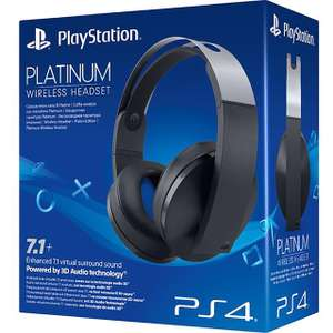 Sony PlayStation PS4 Wireless Platinum Headset - Black - £109 @ AO