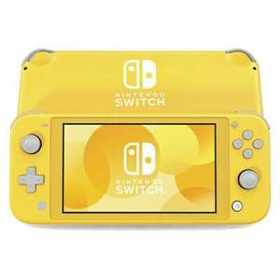 Nintendo Switch Lite Yellow Refurbished Very Good - £186.74 with code @ eBay (Music Magpie)