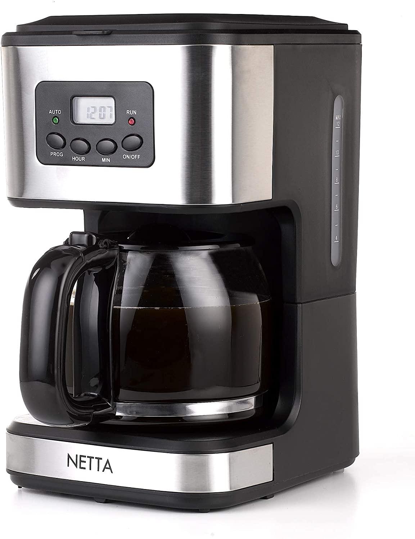 Netta 1.5 litres coffee filter coffee machine 12 cup - £22.99 @ Amazon
