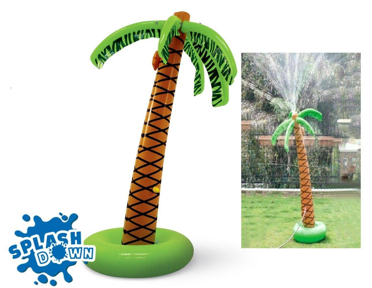 SplashDown Inflatable Sprinkler Palm Tree £6.99/£10.48 Delivered from Home Bargains