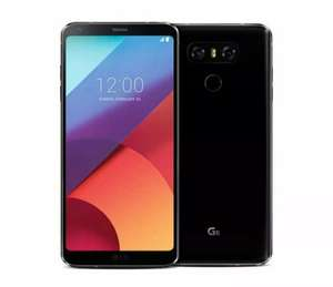 """'New Open Package' LG G6 Black Smartphone 32GB 6"""" - £125.99 With Code @ XS Items Ebay"""