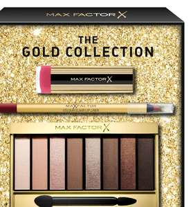 Max Factor 3 Piece Full Sized Gold Gift Set - £7 + £3.50 del at Boots Shop