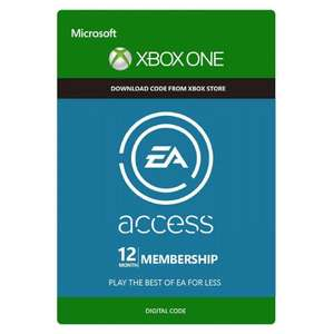 12 month EA Access (XBOX) £14.05 @ Microsoft Store (Hungary)