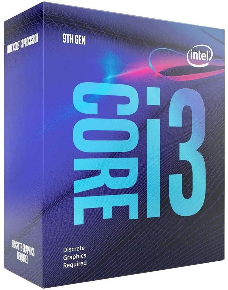 Intel Core i3-9100F Quad Core CPU 3.60GHz- 4.2Ghz £60.38 @ Amazon