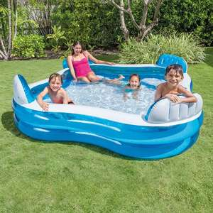 Large Intex Family Lounge Pool Water capacity 990 litres £39.99 with Free delivery from Smyths