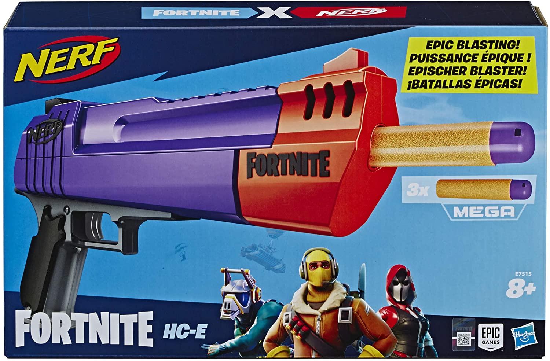 Nerf Fortnite HC E £9.99 (Prime) / £14.48 (non Prime) at Amazon