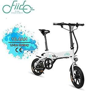 Fiido D1 electric bike 25km/h Max Speed UK Stock - £349.27 or £334.07 if paid in USD @ Geekbuying