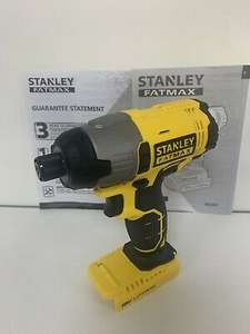 Stanley FatMax FMC641 Cordless 18V Li-ion Brushed Impact Driver Body Only £49.63 at dvspowertools ebay