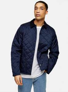 Barbour beacon quilted jacket 50% off! - £49.99 @ Topman
