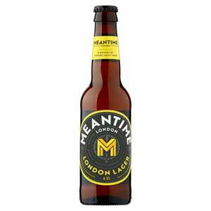 Meantime London Lager 330ml Bottles only 75p in-store at Aldi (West Midlands)